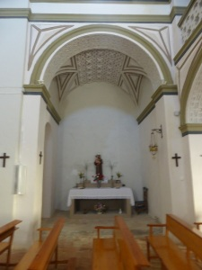 San Julián. Capilla sudoeste