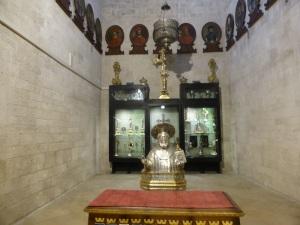 1061. Bari. San Nicolás. Capilla de las reliquias