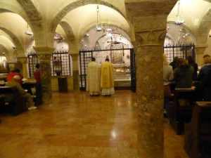 1067. Bari. San Nicolás de Bari. Cripta