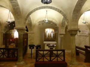 1071. Bari. San Nicolás de Bari. Cripta