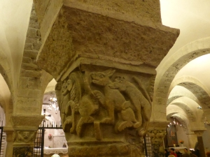 1074. Bari. San Nicolás de Bari. Cripta