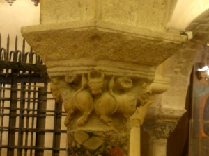 1077. Bari. San Nicolás de Bari. Cripta