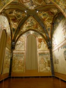 1153. Museo Nacional. Frescos de Santa Clara. Siglo XIV