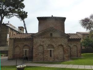 1189. Rávena. Mausoleo de Gala Placidia