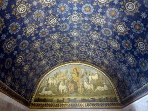 1190. Rávena. Mausoleo de Gala Placidia