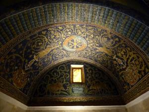 1193. Rávena. Mausoleo de Gala Placidia