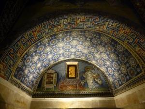 1194. Rávena. Mausoleo de Gala Placidia