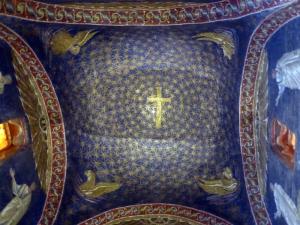 1196. Rávena. Mausoleo de Gala Placidia