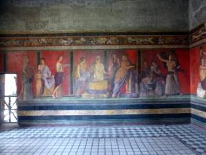123. Pompeya. Villa de los Misterios