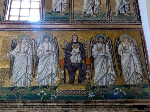 1238. Rávena. San Apolinar Nuovo
