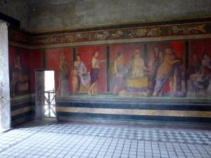 125. Pompeya. Villa de los Misterios