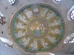 1258. Rávena. Baptisterio de los arrianos