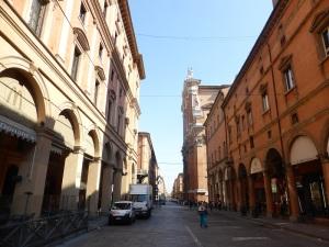 1298. Bolonia. Via Independenza