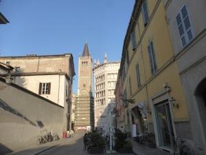 1362. Parma. Strada Duomo