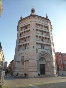 1385. Parma. Baptisterio