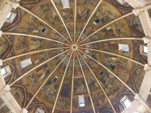1400. Parma. Baptisterio. Cúpula