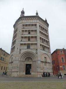 1417. Parma. Baptisterio