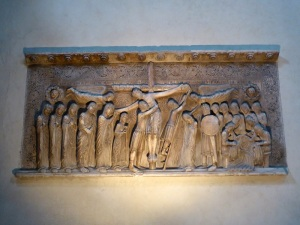 1436. Parma. Duomo. Descendimiento de Benedetto  Antelami (1178)