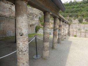 144. Pompeya. Villa de los Misterios