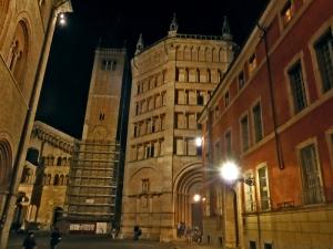 1458. Parma. Baptisterio