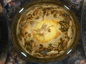 1480. Parma. San Juan Evangelista. Cúpula pintada por Correggio