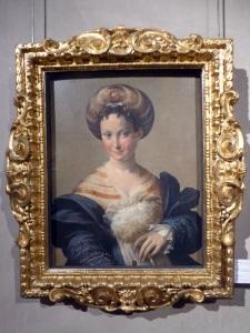 1505. Parma. Galería Nacional. La Esclava turca. Parmigianino. 1532