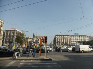 207. Nápoles. Plaza Garibaldi