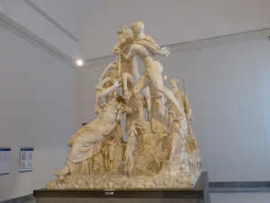 287. Nápoles. Museo Arqueológico Nacional. Toro Farnesio