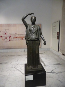 318. Nápoles. Museo Arqueológico Nacional. Danzarinas