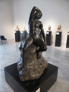 320. Nápoles. Museo Arqueológico Nacional. Sátiro durmiente. Procede de Herculano