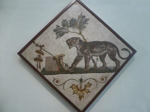 325. Nápoles. Museo Arqueológico Nacional. Mosaico pompeyano