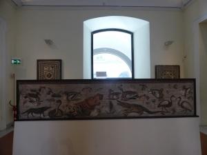 334. Nápoles. Museo Arqueológico Nacional. Mosaico pompeyano