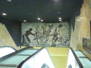 702. Nápoles. Estación de metro Toledo
