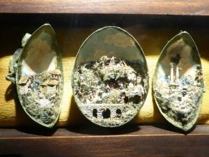 751. Nápoles. Cartuja de San Martín. Pesebre en una cáscara de huevo. Siglo XIX.