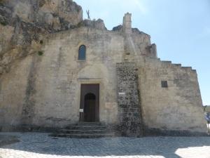 972. Matera. Santa María de Idris y San Juan en Monterrone