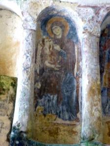 982. Matera. Santa Lucia alle Malve. Virgen de la Leche