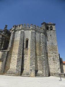097. Tomar. Convento de Cristo. Rotonda de los Templarios, exterior.