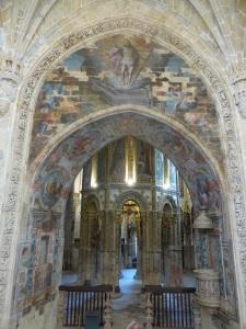 114. Tomar. Convento de Cristo. La charola desde el coro alto