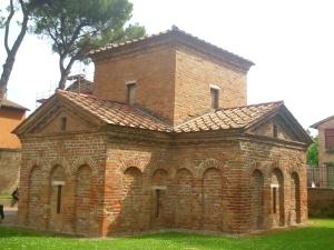1189b. Rávena. Mausoleo de Gala Placidia