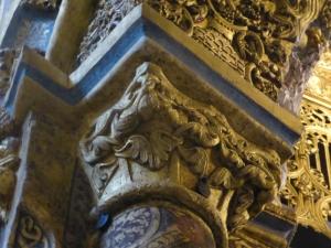122. Tomar. Convento de Cristo. La charola. Capitel 4