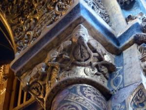 128. Tomar. Convento de Cristo. La charola. Capitel 9