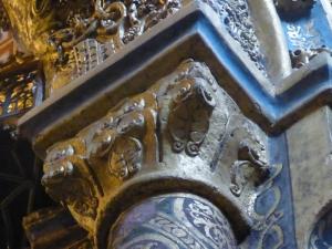 134. Tomar. Convento de Cristo. La charola. Capitel 12b