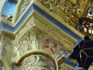 137. Tomar. Convento de Cristo. La charola. Capitel 15