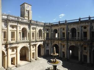 148. Tomar. Convento de Cristo. Claustro Mayor