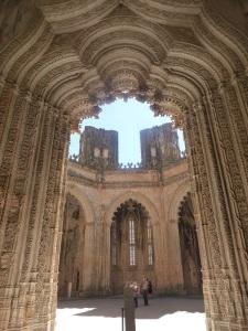 234. Monasterio de Batalha. Capelas Imperfeitas