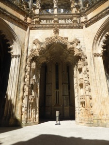 236. Monasterio de Batalha. Capelas Imperfeitas
