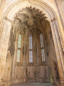 238. Monasterio de Batalha. Capelas Imperfeitas