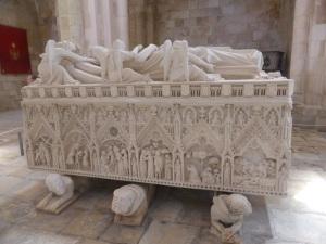 268. Monasterio de Alcobaça. Sepulcro de Doña Inés