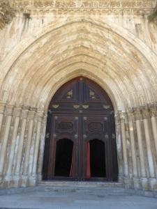 275. Monasterio de Alcobaça. Portada