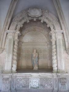 278. Monasterio de Alcobaça. Claustro del Silencio